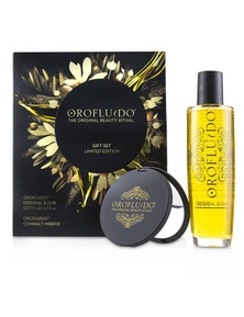 Orofluido The Original Beauty Ritual Limited Edition Gift Set: Original Elixir 100ml + Compact Mirror