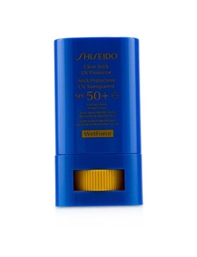 Shiseido Clear Stick UV Protector WetForce For Face And Body SPF 50+ (Very High Protection And Very Water-Resistant)