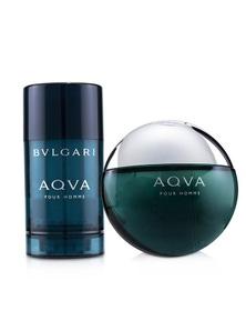 Bvlgari Aqva Pour Homme Coffret: Eau De Toilette Spray 100ml/3.4oz + Deodorant  Stick 75ml/2.7oz