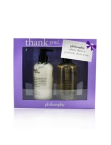 Philosophy Fresh Cream Coffret: Hand Wash 240ml/8oz + Hand Lotion 240ml/8oz