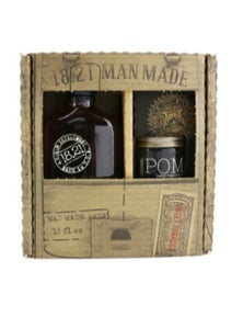 18.21 Man Made Man Made Wash And Pomade Set - Sweet Tobacco: 1x Shampoo, Conditioner And Body Wash 530ml + 1x Hair Pomade 56.7g