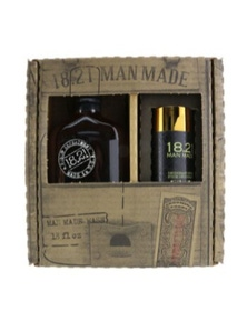 18.21 Man Made Man Made Wash And Deodorant Set - #Sweet Tobacoo: 1x Shampoo, Conditioner And Body Wash 530ml + 1x Deodorant Stick 75g