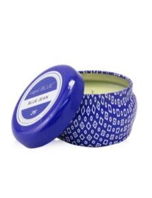 Capri Blue Blue Mini Tin Candle - Blue Jean