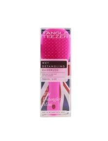 Tangle Teezer The Wet Detangling Mini Hair Brush- Pink Sherbert (Travel Size)