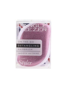 Tangle Teezer Compact Styler On-The-Go Detangling Hair Brush- Candy Sparkle