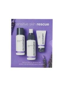 Dermalogica Sensitive Skin Rescue Kit: UltraCalming Cleanser + UltraCalming Mist + Calm Water Gel