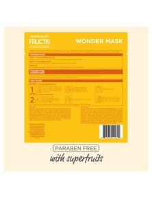 Garnier Fructis 15ml 2 Step Wonder Mask Hair System w/ Coconut Oil + Care Sealer 5x