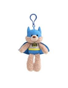 DC Gund Fuzzy Backpack Clip - Batman