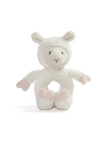 Gund Baby Toothpick Llama Plush - Ring Rattle