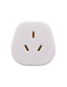 Lewis N. Clark Adaptor - USA (Grounded) - White