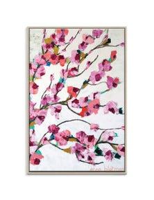 Anna Blatman - Pink Magnolia Canvas Art