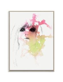 Steve Leadbeater - Fear Lust Canvas Art