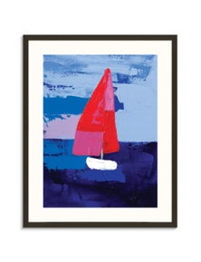 Anna Blatman - Boating Paper Art