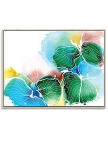 Julie Marie Hansen - Ink Flower 5 Canvas Art