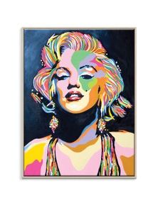 Steven Brown - Marilyn Canvas Art