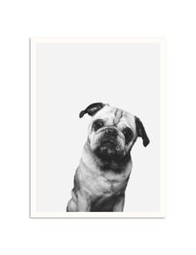 Artist Lane - Pug Paper Art