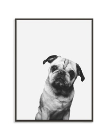 Artist Lane - Pug Canvas Art