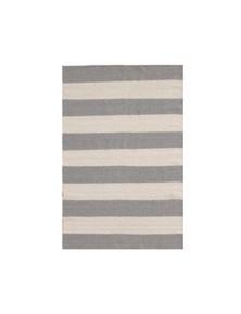 Lara Coast Grey White Rug 70x120cm