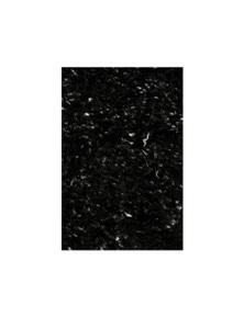 Angora Lux Black Wool Rug 115x165cm