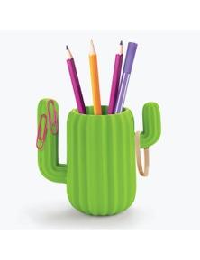 Mustard- Cactus Desktop Organiser/Pen Pot