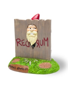 BigMouth- The 'Here's Gnomey!' Garden Gnome