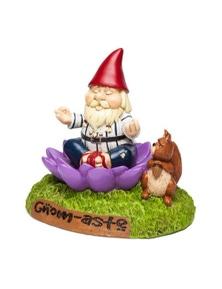 BigMouth- The 'Gnome-aste Meditating Garden Gnome