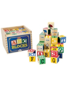 Schylling- Alphabet Wood Blocks
