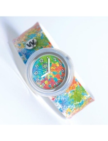 Paint Splatter- Watchitude Slap Watch