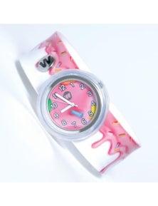 Pink Frosting- Watchitude Slap Watch