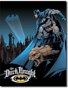 Batman- The Dark Knight Retro Tin Sign