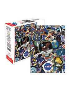 NASA Mission Patches 1000pc Puzzle