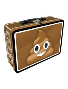 Poop Emoji Tin Carry All Fun Box