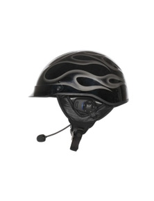 Sena SPH10H-FM-01 Half Helmet Motorcycle Bluetooth Intercom