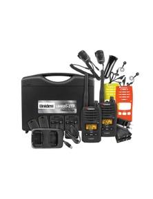 Uniden UH820S-2TP Tradie Pack 80-Channels 2 Watt UHF Handheld