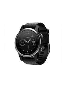 Garmin Fenix 5S GPS Sport Activity Watch Silver w/ Black Band