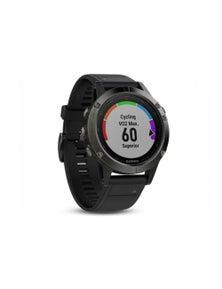 Garmin Fenix 5 GPS Multi Sports Watch Slate Grey w/ Black Band