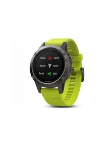 Garmin Fenix 5 GPS Sport Watch Slate Grey w/ Amp Yellow Band