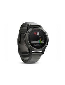 Garmin Fenix 5 GPS Sport Watch Sapphire Slate Grey w/ Metal Band