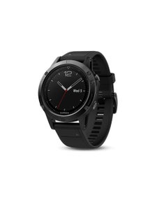 Garmin Fenix 5 GPS Sport Watch Black Sapphire w/ Black Band