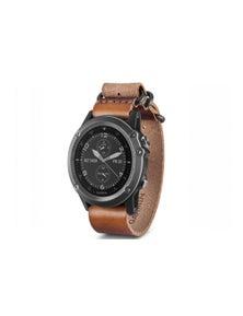 Garmin Fenix 3 GPS Fitness Watch Sapphire Grey w/ NATO Band