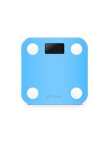 Yunmai Mini Smart Scale Body Fat Composition Monitor App Blue