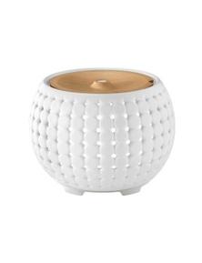 Homedics Ellia Gather White Ultrasonic Light Oil Aroma Diffuser
