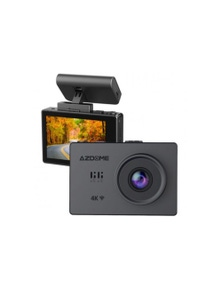 AZDOME M10 4K 2160P 24 FPS Dash Cam OLED Touch Screen Dual Channel
