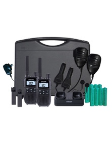 Oricom UHFTP2390 80 Channel 2-Way UHF Radio 2W Tradie Pack UHF2390TP