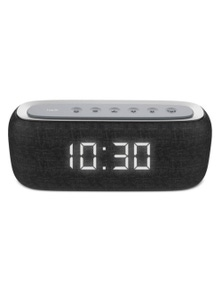 Havit M29 Wireless Bluetooth Speaker Dual Alarm Radio Clock LED Black