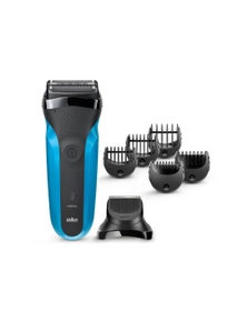 Braun 310BT Series 3 310s Rechargeable Electric Shaver & Beard Trimmer