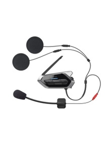 Sena 50R Low Profile Single Motorcycle Bluetooth Comms w Mesh Intercom