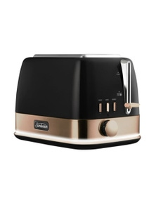 Sunbeam New York Collection 2 Slice Toaster Black Bronze TA4420KB