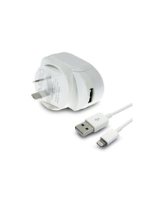 Aerpro APL2005A 2.4A AC USB Wall Charger w/ 1m Lightning Cable