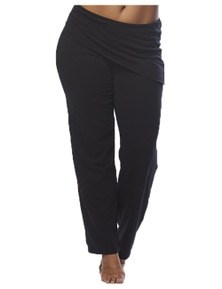 Curvy Chic Sports Asymmetrical Yoga Pant